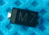 Диод выпрямителя тока 1A 1000V M7