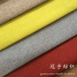 Tissu de toile de polyester avec le nylon composé pour le textile à la maison