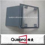 Bevederde randframe metaaltoegangsdeur AP7040
