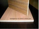 家具E1 E2の等級のポプラのシラカバのマツマホガニーのOkoumeの合板