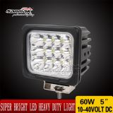 5 '' 60W IP68 Offroad CREE LED Work Light Sm6081-60