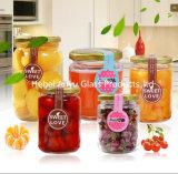 De Kruik van het Glas van de fabriek de Fles van het Glas van de Honing voor van de Jam/het Inblikken van het Voedsel/van Groenten in het zuur