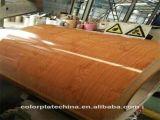 Il disegno di legno di stampa ha preverniciato l'acciaio di legno galvanizzato PPGI per il Vietnam