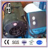 Parte superior 1/4 '' - a máquina de friso da mangueira 2 '' 4sp hidráulica, a máquina de friso Dx68 Dx69 da mangueira de alta pressão com 10 morre jogos