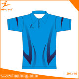 Polyester-volles Sublimation Printting Mann-Polo billig 100%