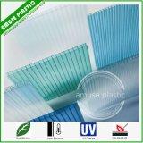 Folha plástica colorida da telhadura do PC da folha da iluminação da cavidade do policarbonato de Makrolon