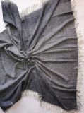Kaschmir-Licht gesponnener XL angestrichener Schal
