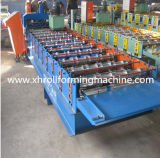 機械(艶をかけられるXH840)を形作るカラー鋼鉄屋根によって艶をかけられるタイル