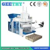 Máquina de molde do tijolo do bloco do cimento Qmy10-15