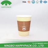 中国の卸し売り食品等級の使い捨て可能なコーヒー紙コップ