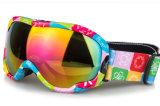 Солнечные очки противотуманного скреста объектива PC анти- спортивный для катания на лыжах