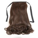 싼 합성 머리 묶은 머리