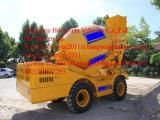 3.5 M3 Lading die van de Diesel Mixer van de Concrete Mixer 4X4 van de Gemotoriseerde Zelf Kleine Concrete Mobiele Vrachtwagen voor Verkoop mengen