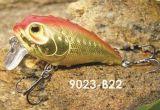 Attrait de flottement détraqué sec de bonne qualité de pêche de l'amorce 55mm de palan de pêche