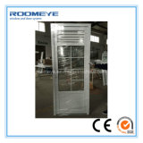 Porte de vente de tissu pour rideaux de PVC de Roomeye la plus populaire meilleure avec l'auvent en aluminium