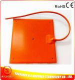 calefator flexível da borracha de silicone de 24V 350W 300*300*1.5mm para a impressora 3D