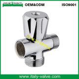 ISO9001 zugelassenes chromiertes MessingPoliereckventil (IC-3024)