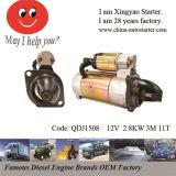 Jogo de gerador 12V usado da embarcação e do diesel que retarda o acionador de partida