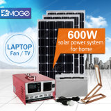 Sistema domestico di illuminazione solari di Moge 400W 600W in azione