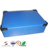 Ecofriendly 폴리프로필렌 뚜껑을%s 가진 물결 모양 플라스틱 상자 PP 콘테이너