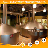 cerveza inglesa 20bbl/equipo de la fabricación de la cerveza dorada/de la cerveza de Ipa/sistema de llavero de la cervecería del servicio