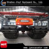 Hochwertiger 3 Ketten-Fahrgestell-Ponton-hydraulischer Gleisketten-Exkavator