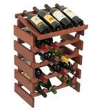 Elettrodomestici 3/4 di memoria del vino delle file 10/20 di cantina per vini del mini Governo del vino della cremagliera del vino delle bottiglie mini