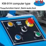 Kangmaiの製造業者(KM-91H)からのコンピュータのタイプひだが付く機械