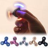 LED-greller heller Handfinger-Spinner-Unruhe-lange Zeit-leistungsfähiger Aluminiumunruhe-Spinner für Autismus und Adhd Entlastungs-Spielwaren