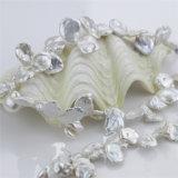 Snh 14mm Natuurlijke Bruids Reeks van de Juwelen van de Parel van het Zoet water Keshi