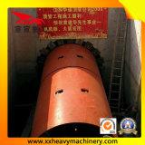 tubo de los túneles ferroviarios de 1650m m que alza con el gato la máquina
