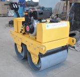 歩の後ろWater-Cooledディーゼル機関(FYL-800CS)を搭載する油圧振動ローラー