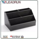 Contenir la collection de rangement Boîte à papeterie à bille en bois avec papier en cuir (YLS81)