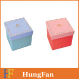 Rectángulo de papel de empaquetado del regalo de la dimensión de una variable cuadrada para los kits