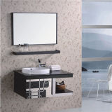 [ستينلسّ ستيل] غرفة حمّام تفاهة خزانة بالجملة مع مرآة