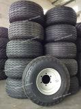 Landwirtschaftlicher Werkzeug-Schlussteil-Reifen 400/60-15.5 mit Felge 15.5X13.00 montieren