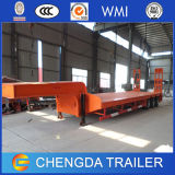 50t Low Flat Bed Semi Trailer/Lowbed Semi Trailer da vendere