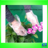 Gants jetables au PEHD, gants en plastique