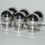 Steel inoxidável Sanitary Rotary Spray Cleaning Ball para Tank