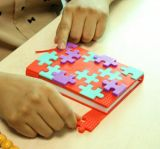 Nuovo taccuino di puzzle del coperchio del silicone