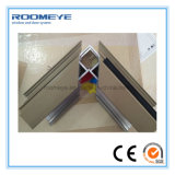 Profil enduit de guichet en aluminium et de porte de poudre de Roomeye