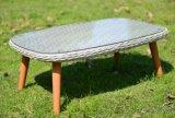 Mobília de vime ao ar livre do pátio do Rattan