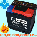 12V Lead-Acid 자동차 배터리 및 트럭 건전지 12V75ah 12V150ah