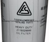 El compresor de aire parte el filtro de petróleo para los compresores 2116029996 de Fusheng