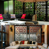 FacadeのためのレーザーCut Decorative Aluminum Perforated Wall Panel
