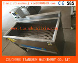 Singola macchina di frittura del riscaldamento elettrico per il calamaro