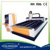 Telas do metal do corte do laser da máquina de estaca do laser da fibra do CNC