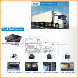 Коммерчески системы в реальном маштабе времени камеры тележки 4/8 каналов с камерой 3G 4G передвижной DVR