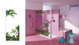 クロムのシャワーのドアを滑らせる10mmの厚く明確な緩和されたガラスFrameless