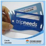 Biglietto da visita impresso UV del punto RFID